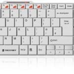 TOP Tastatur und Maus, superweiß, super dünn, schnurlos, 29 EUR